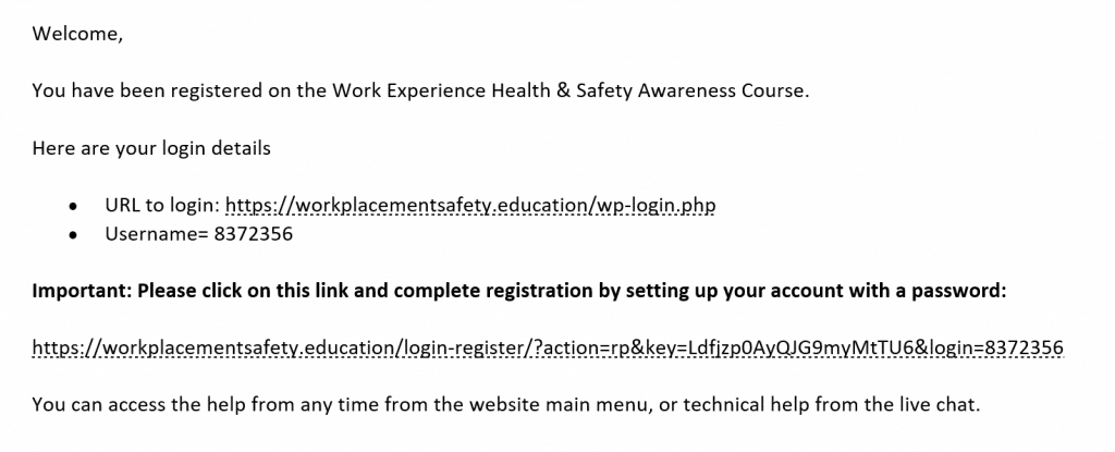 screenshot student registration email example 1024x415 - Help